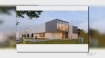 rendering of the proposed new building for Brescia