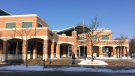 The Barrie Public Library can be seen in Barrie, Ont. on Tuesday, Jan. 16, 2018. (Aileen Doyle/ CTV Barrie)