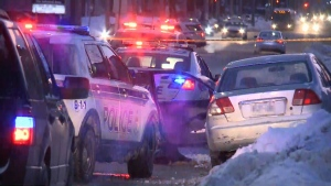 Ottawa Police are investigating a shooting in the Heron Gate area that has left two people with minor injuries on Tuesday, Jan. 16, 2018.