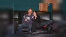 Dan Brodbeck and Dolores O'Riordan