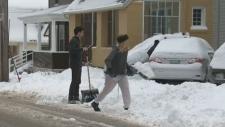Snow in Halifax