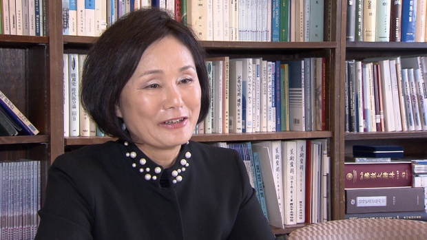 Dr. Kyung-Ae Park speaks to CTV News on Tuesday, Jan. 16, 2018.