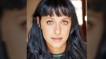 Jessica Falkholt is seen in this head shot. Photo taken by Sally Flegg Photography