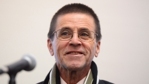 Hassan Diab speaks with reporters in Ottawa on Wednesday Jan. 17, 2018. French authorities dropped terrorism charges against Diab who was suspected of taking part in an attack in Paris in 1980 and have ordered his immediate release. THE CANADIAN PRESS/Sean Kilpatrick