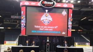 The Regina Pats announce that Memorial Cup tickets will be on sale starting Jan. 18, 2018 (Jessica Smith / CTV Regina)