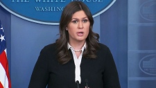 White House briefing by Press Secretary Sanders