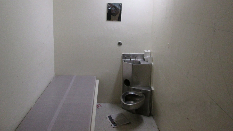 A solitary confinement cell is shown in a undated handout photo from the Office of the Correctional Investigator. (THE CANADIAN PRESS / HO- Office of the Correctional Investigator)