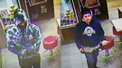 The OPP released these images of two men wanted for robbing an Angus, Ont. McDonald's.