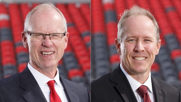OSEG CEO Bernie Ashe (left) is retiring in April. COO Mark Goudie (right) will become the new CEO. (Photo: OSEG)