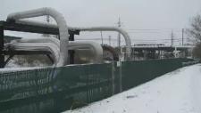 Butane leak