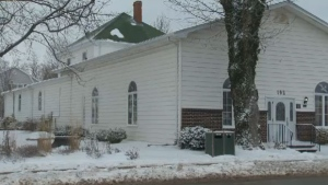 Pictured: Serenity Funeral Home in Berwick, N.S.