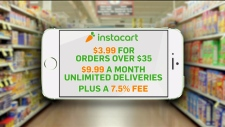 Grocery delivery comes with higher prices