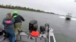Two boats collide in a fishing trip gone wrong