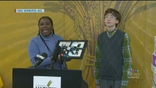 Young Winnipegger recognized for charitable work