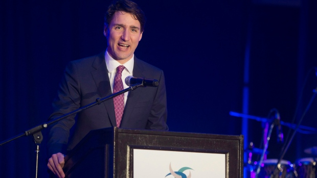 Trudeau speaks in g7 host town to kick off two day trip to for Chambre de commerce vancouver