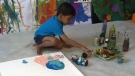 Advait's art is set to be featured at one of the largest trade shows in New York in April.