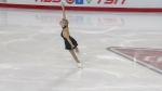 Figure skater trying to bring parents to Olympics