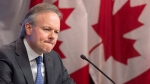 Bank of Canada Governor Stephen Poloz is seen during a news conference in Ottawa, Wednesday January 17, 2018. The economy's impressive run prompted the Bank of Canada to raise its trend-setting interest rate Wednesday for the third time since last summer and to send a signal that more increases are likely on the horizon. THE CANADIAN PRESS/Adrian Wyld