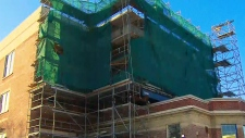 Child injured by scaffolding at Toronto school