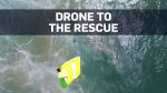 Rescue drone saves teens caught in rip tide