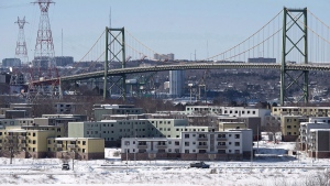 Shannon Park in Dartmouth, N.S. was offered as a site for Amazon's HQ2. (Andrew Vaughan / THE CANADIAN PRESS)