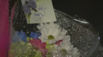 Memorial grows for teen pedestrian