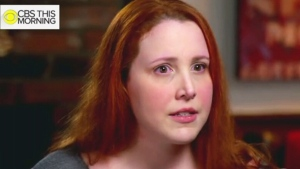 Dylan Farrow speaks to 'CBS This Morning' in this image taken from video.