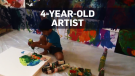 4-year-old's paintings sell for thousands