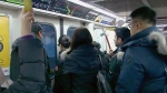 overcrowding issues on TTC Line 1