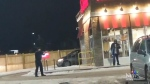 Police standoff outside popular establishment