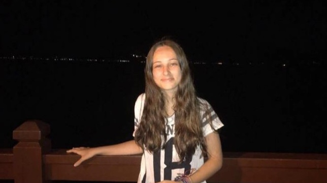 Fernanda Girotto, 14, is seen in this social media image.