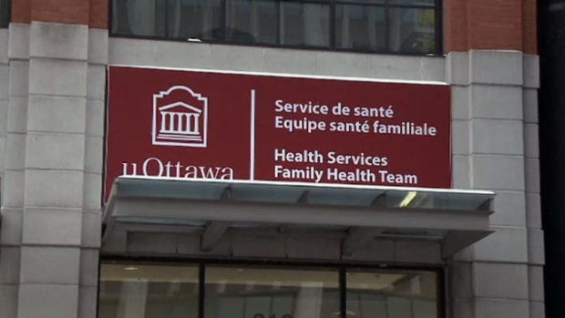 University of Ottawa Health Services Clinic at 316 Rideau Street. Dr. Vincent Nadon is charged with voyeurism and sexual assault, after police investigated a complaint.