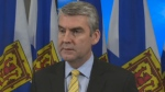 Stephen McNeil was reacting to questions about why doctor shortages appear to be growing worse Thursday, Jan. 18, 2018.