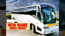 Tofino Bus is searching for a new name to reflect that its operating beyond just Tofino, and thousands of suggestions have poured in asking the company to rename itself 'Jeff.' (Courtesy Tofino Bus All Island Express)