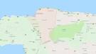 St. James is a suburban parish, located on the north-west end of the island of Jamaica. (Google Maps)