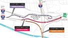 There is a new route for drivers connecting from Highway 20 East to Highway 15 North as of Monday Jan. 22, 2018