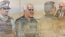 A court sketch of Bruce McArthur, the 66-year-old suspect arrested in connection to the presumed deaths of two men from the city's gay village. (Source: John Mantha)