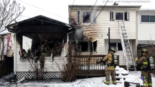House fire in south Ottawa