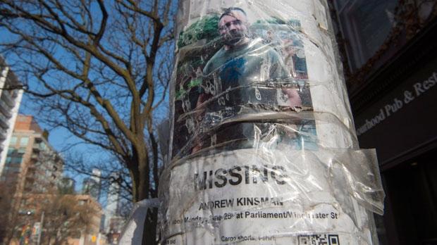 andrew kinsman missing