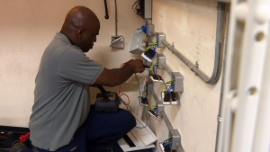 Tony is on track to become a qualified electrician by September 2018, turning around a life that left him broken and living on handouts (CTV News).