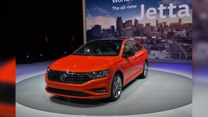The all-new Volkswagen Jetta is show in this photo. (Newspress/Volkswagen)