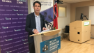 Dr. Eric Hoskins announces planning grant for HSN