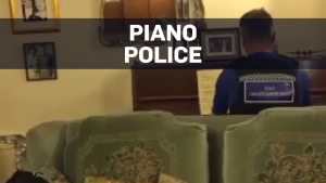 U.K. officer plays Chopin for burglary victim