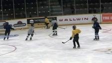 Hockey team from China kicks off Canadian tour