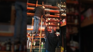 Fets Whisky Kitchen, an establishment in Vancouver, said liquor control agents seized some 242 bottles of specialty whisky from its shelves. Jan. 19, 2018. (Facebook)