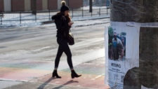 A worn missing poster for Andrew Kinsman is taped to a pole in the Church and Wellesley neighbourhood in Toronto on Friday January 19, 2018. Bruce McArthur, a 66-year-old Torontoman, was arrested and charged yesterday as part of an investigation into the disappearance of Selim Esen and Andrew Kinsman. THE CANADIAN PRESS/Frank Gunn