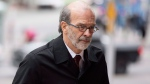 Former Dalton McGuinty Chief of Staff David Livingston arrives at a Toronto court on Friday, October 27, 2017. THE CANADIAN PRESS/Chris Young
