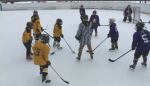 West Carleton Outdoor Hockey League teams play in Constance Bay