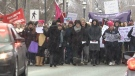 CTV Atlantic: N.S. woman march amid online attacks