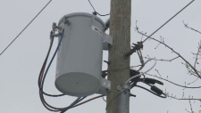 At its peak, New Brunswick Power had 3,000 customers in Moncton and 8,600 in Riverview without power Saturday, Jan. 20, 2018.